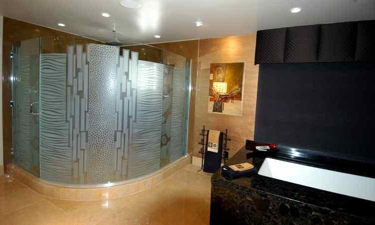 Nokes frmls gls shower doors etched glass modern decor planetlyrics Image collections