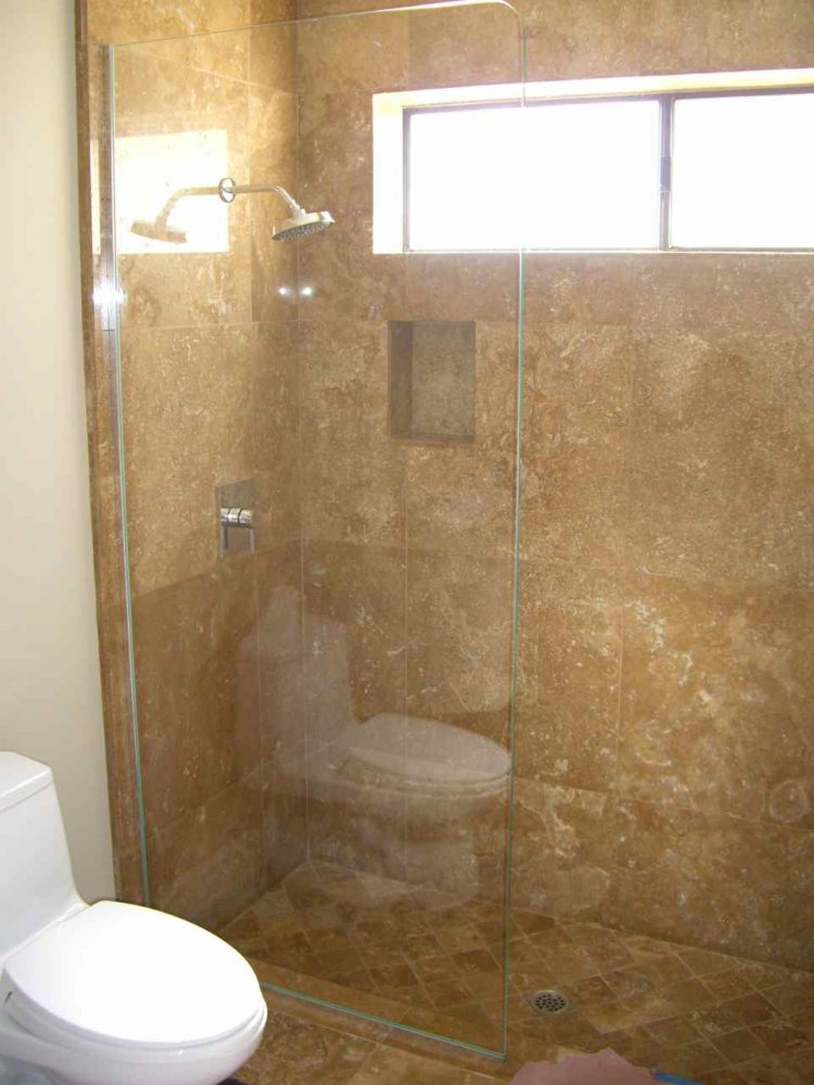 Plain Frameless Glass Shower Doors Plain Glass