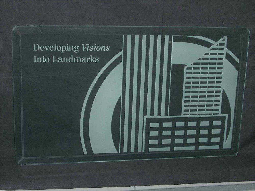 Glass Signs Orr Builders Sans Soucie