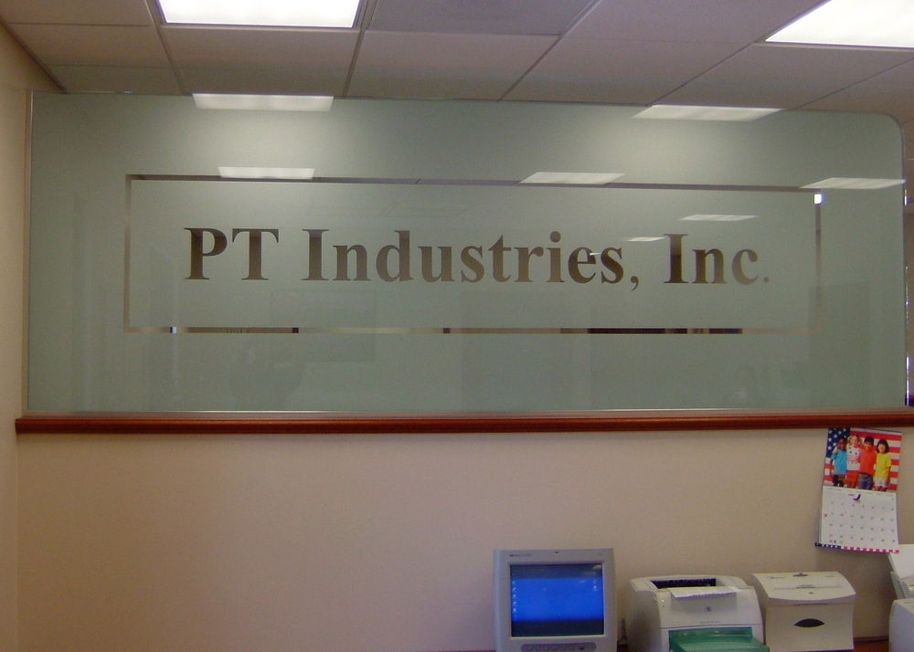 Glass Signs PT Industries Sans Soucie