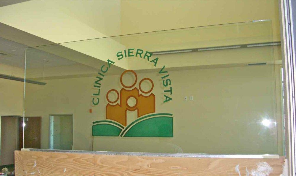 Glass Signs Sierra Vista Sans Soucie