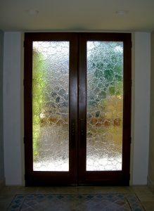 Front Doors Cast Glass Texture stone glass Sans Soucie
