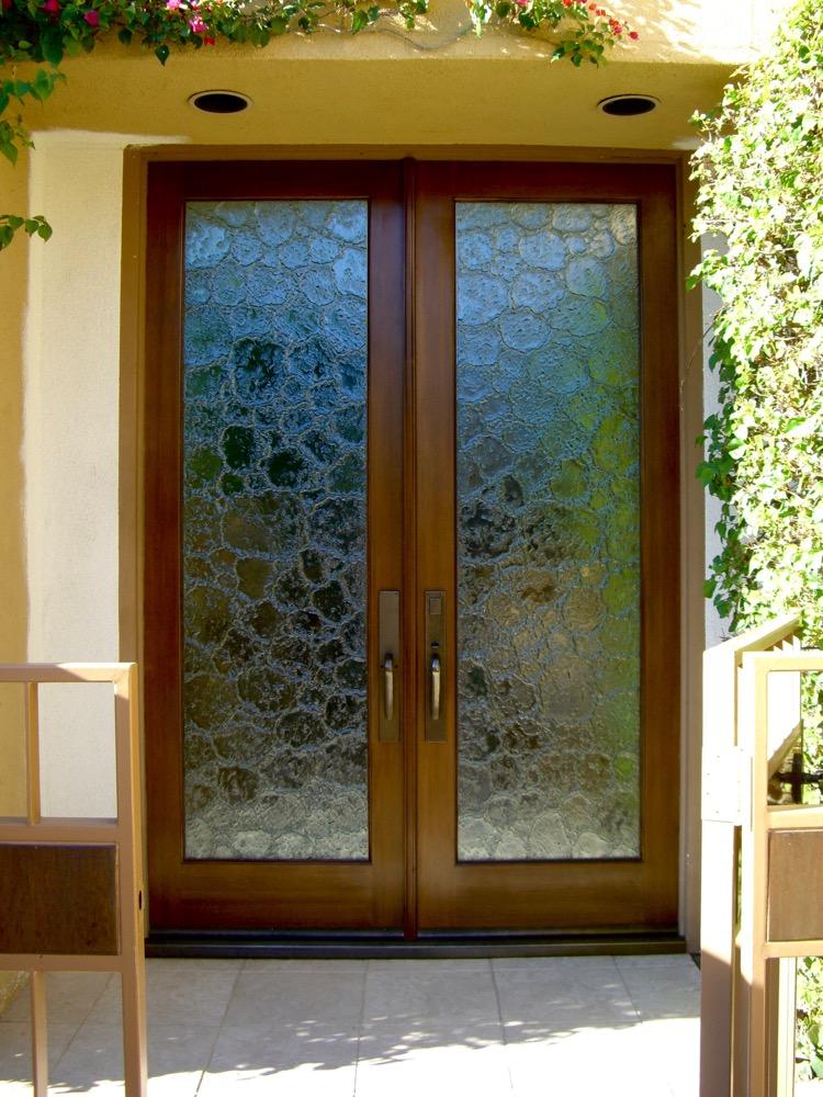Glass Door Inserts Cast Glass Stone Sans Soucie