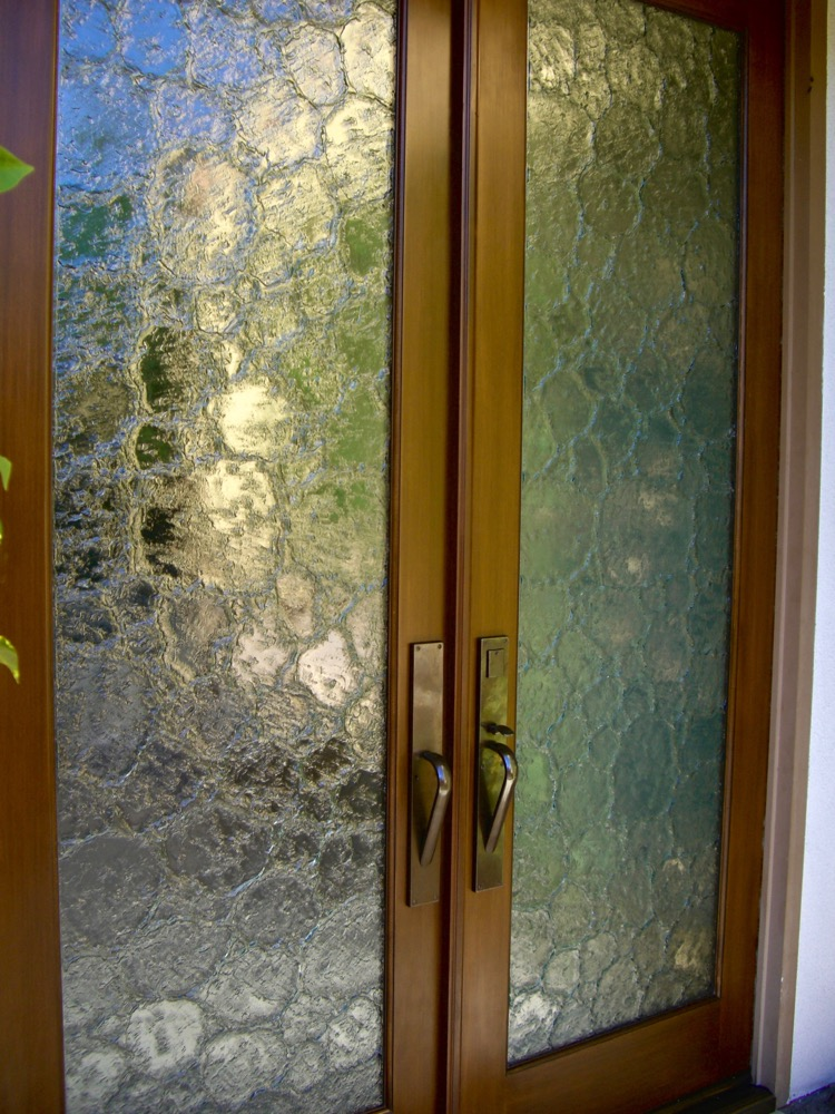 Glass Door Inserts Cast Glass Stone Sans Soucie