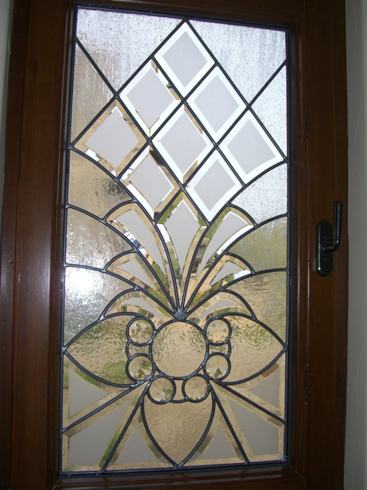 Arbsqe Bvls I Glass Window Beveled Glass Moroccan Style