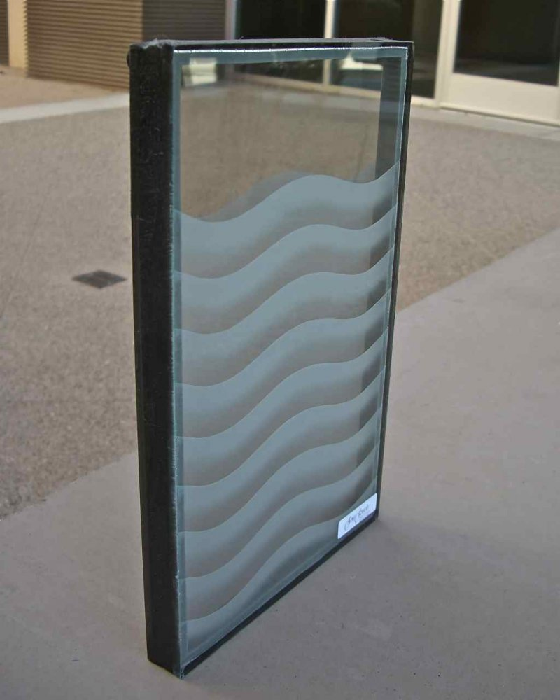 glass window etched glass dual pane sans soucie