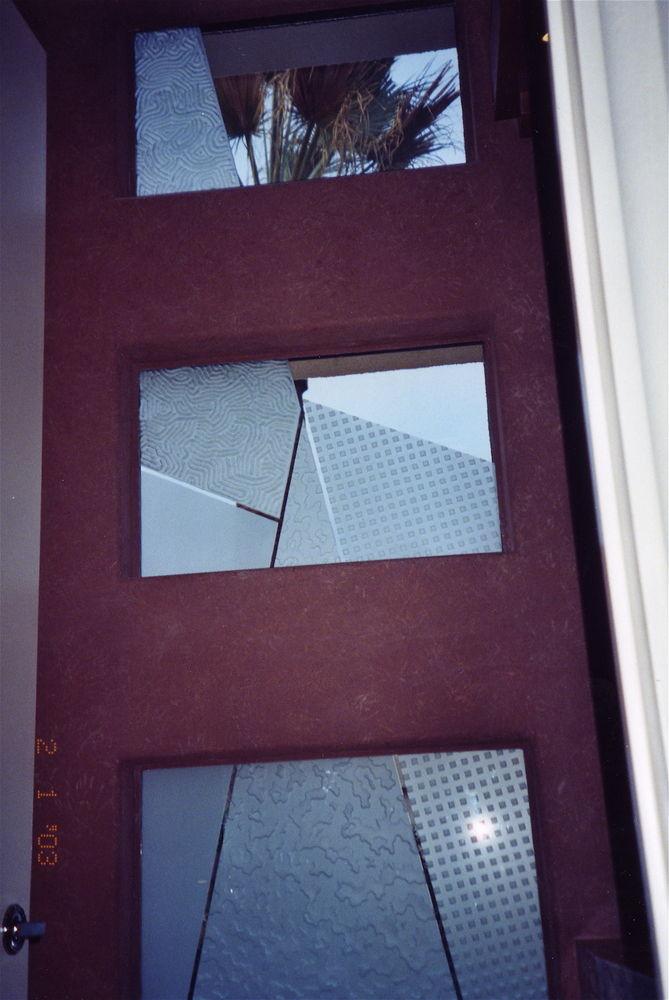 glass window etched glass modern design geometric patterns matrix ll sans soucie