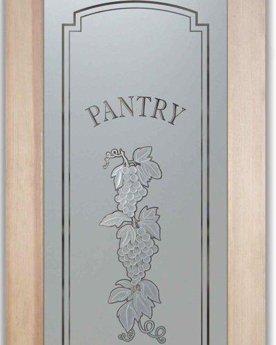 Grapes Strand C 3D Pantry Door Sans Soucie