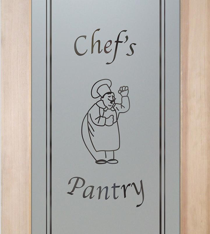 happy chef 1D pantry door