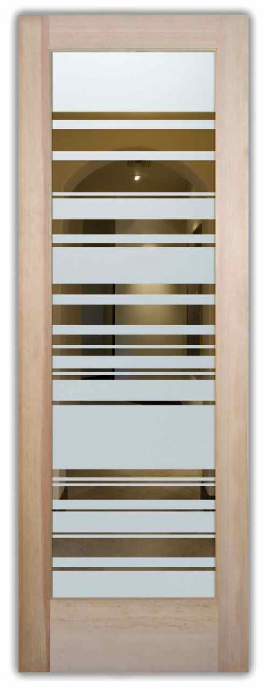 Interior Glass Door Frosted Glass Angles Sleek Lines Geometric Patterns  Modern Decor Sans Soucie Barcodes