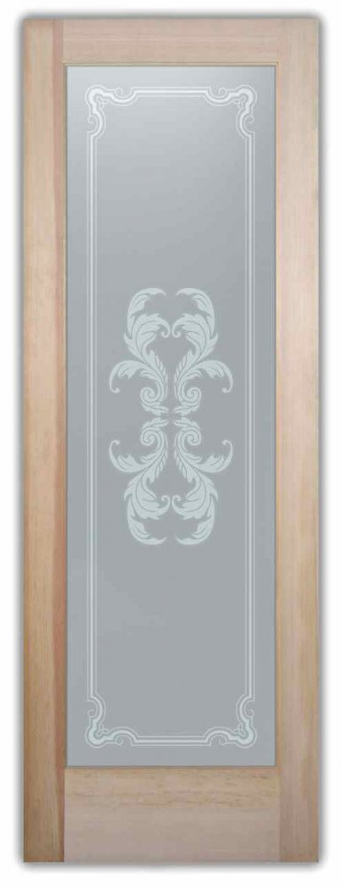 Interior Glass Doors custom glass french decor ornate intricate shapes florence flourish sans soucie