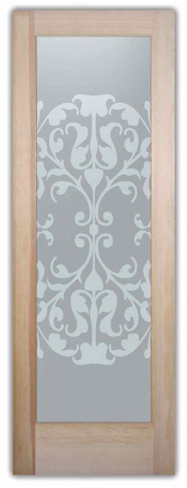 Toulouse Victorian Design Interior Etched Glass Doors