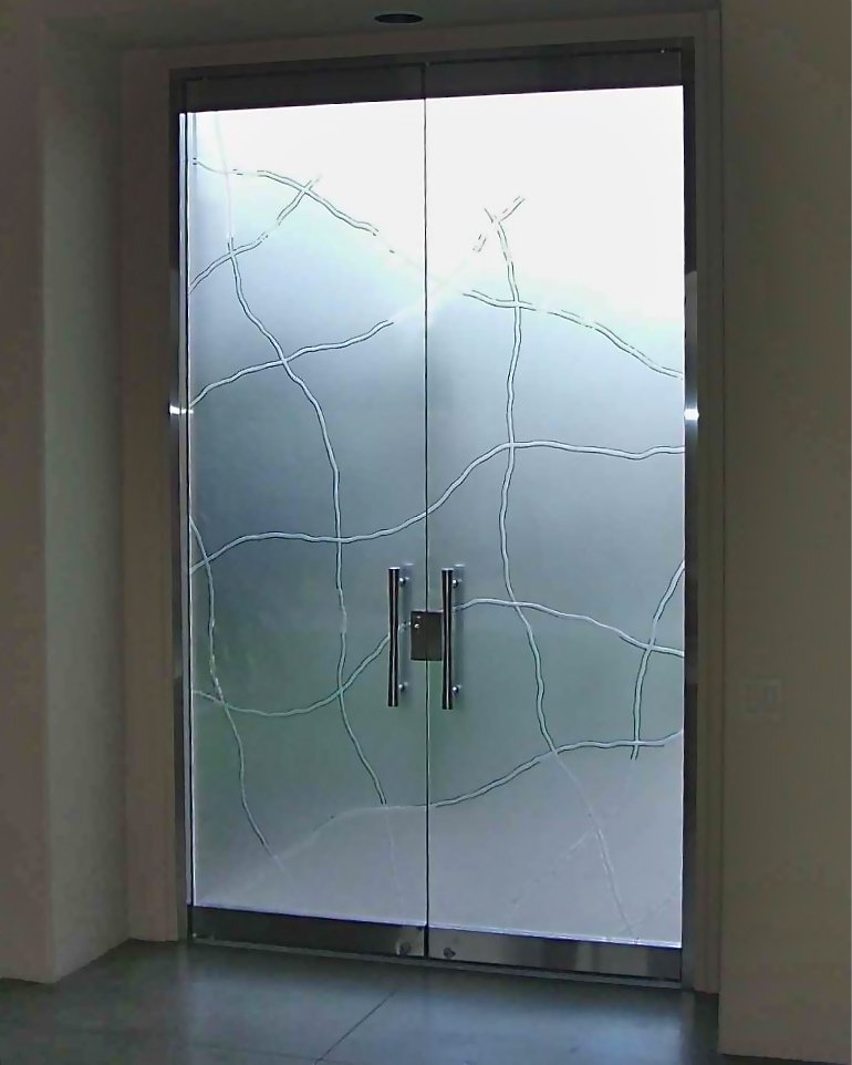 Linean Frameless Glass Doors L Sans Soucie
