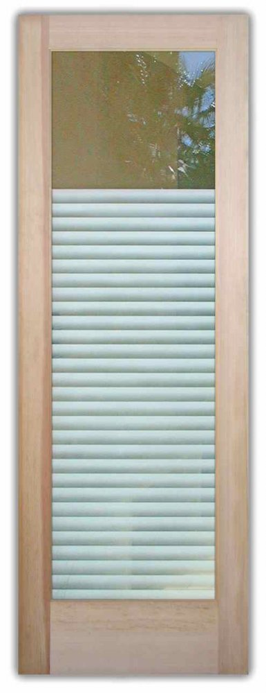 Front Doors with Glass Etching Modern Contemporary by Sans Soucie