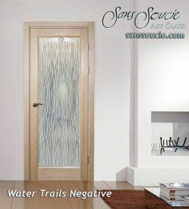 glass doors glass etching water falling linear mediterranean decor sans soucie water trails