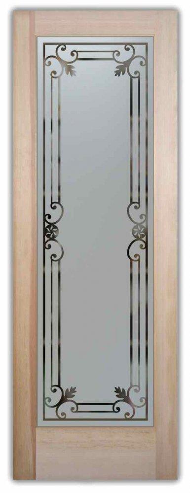 Miranda Solid Frost Pantry Door Sans Soucie