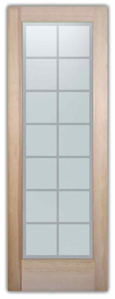 interior glass doors etching glass traditional design squares patterns panes sans soucie