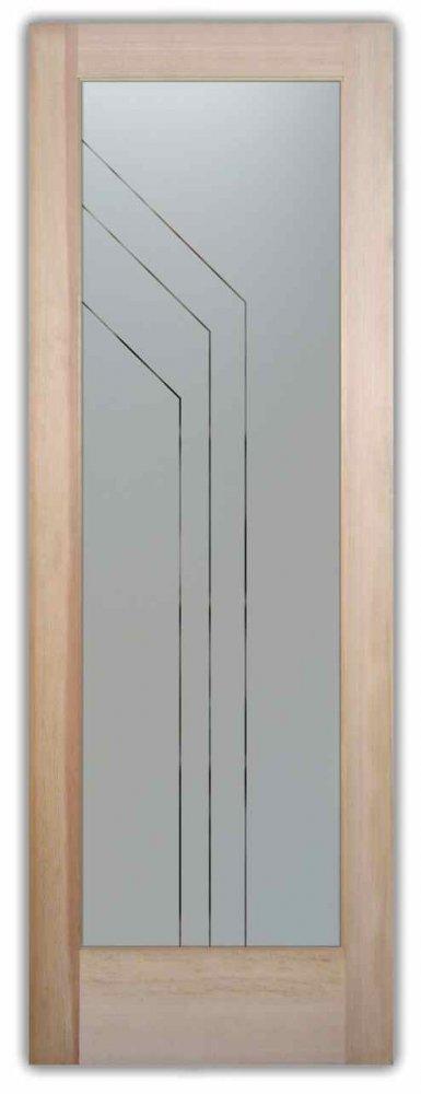 Pantry Doors Angled Pinstripe Sans Soucie