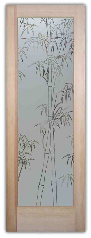Pantry Doors Bamboo Shoots Pinstripe Sans Soucie