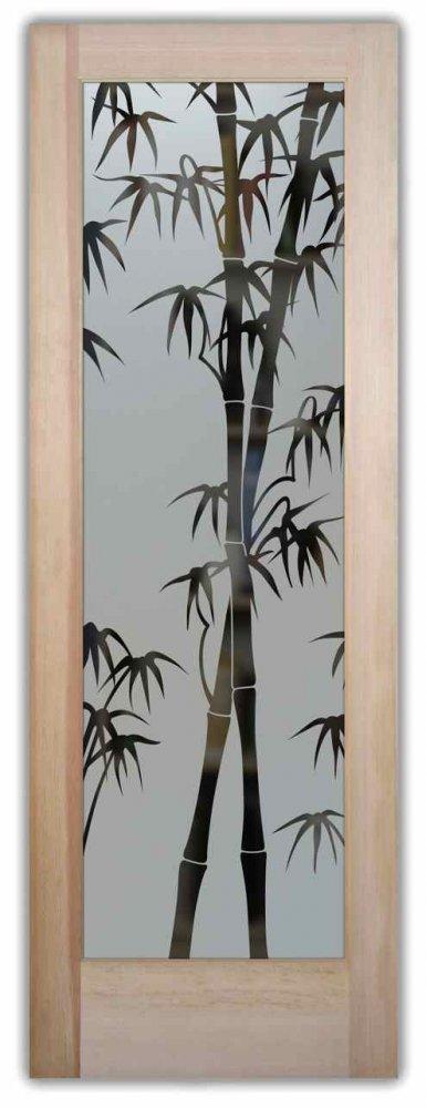 Pantry Doors Bamboo Shoots Sans Soucie