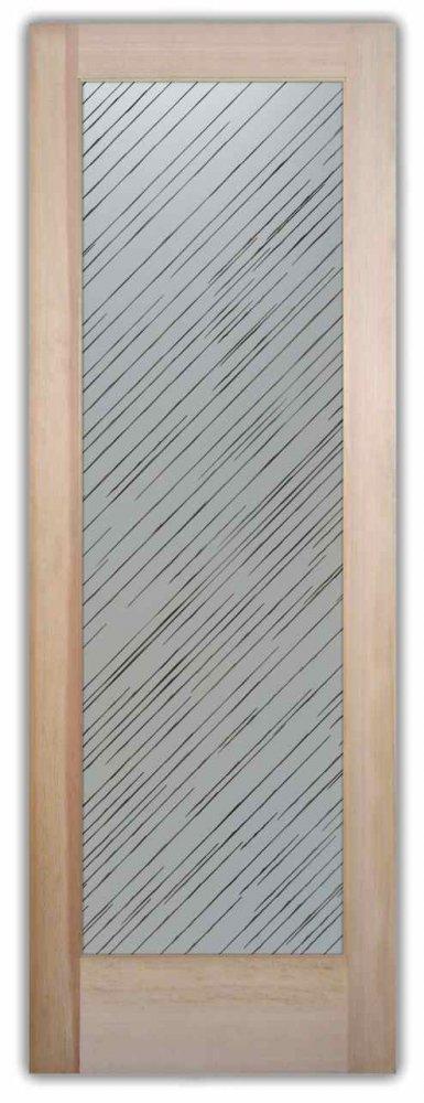 Pantry Doors Brushed Aluminum Sans Soucie