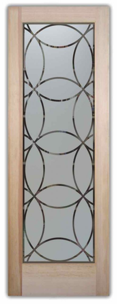 Pantry Doors Circles Intersecting Sans Soucie