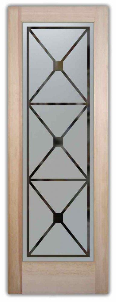 Pantry Doors Cross Hatch l Sans Soucie