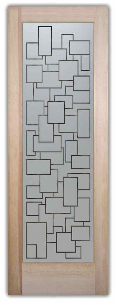 Pantry Doors Cubes Pinstripe Sans Soucie