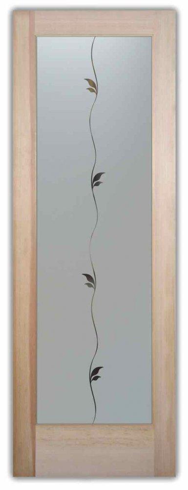 Pantry Doors Delicate Leaves Sans Soucie