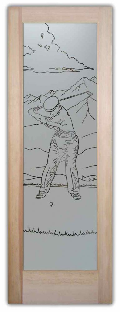 Pantry Doors Desert Golfer Sans Soucie
