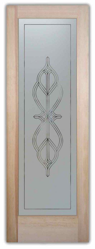 Pantry Doors Faux Bevels ll Pinstripe Sans Soucie