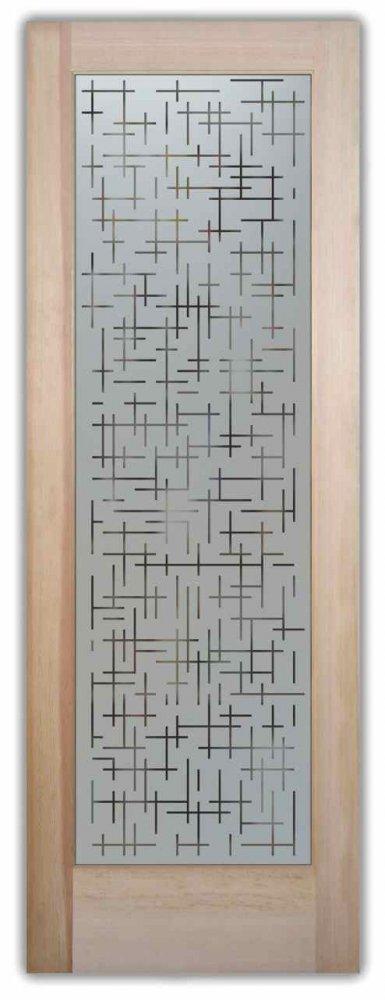 Pantry Doors Grid Fine Sans Soucie