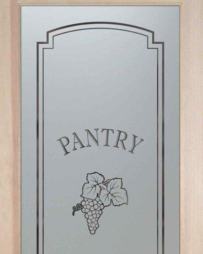 Pantry Doors Vineyard Grapes Cluster A Sans Soucie