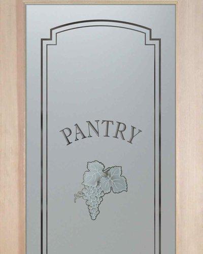 Pantry Doors Vineyard Grapes Cluster C Sans Soucie