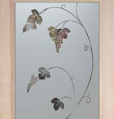 Pantry Doors Vineyard Grapes Unfurled Sans Soucie