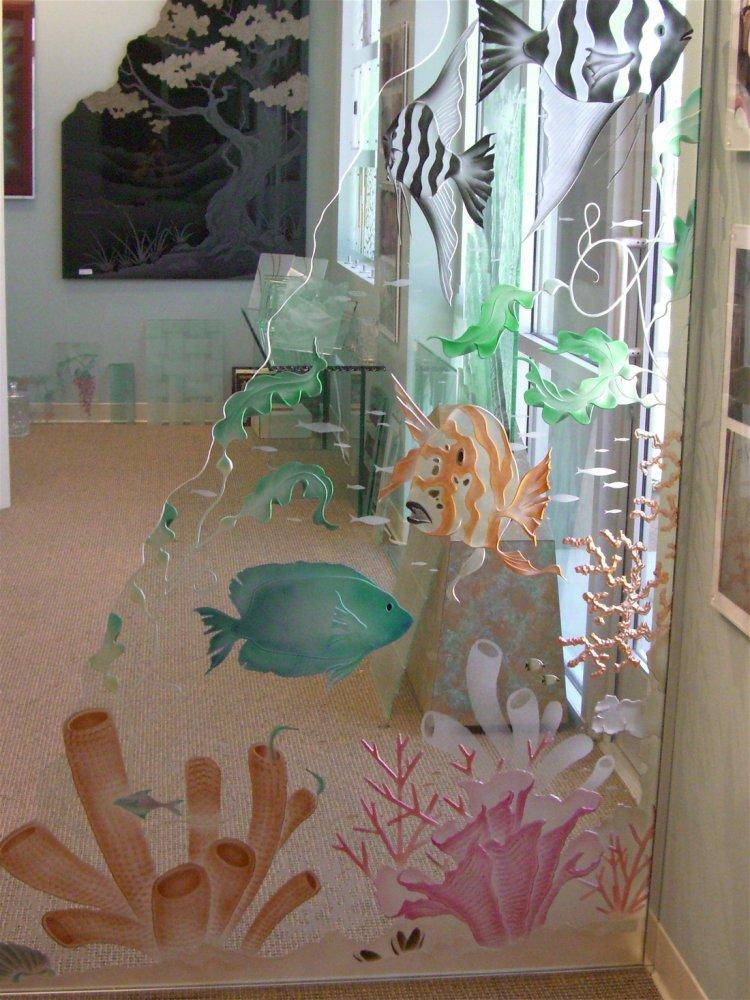 Partitions Freestanding Aquarium 3D Sans Soucie
