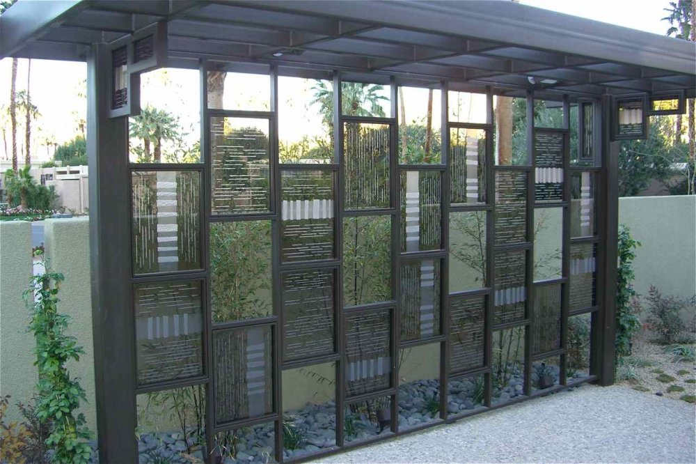 Nepal partitions screens sans soucie for Outdoor glass wall panels