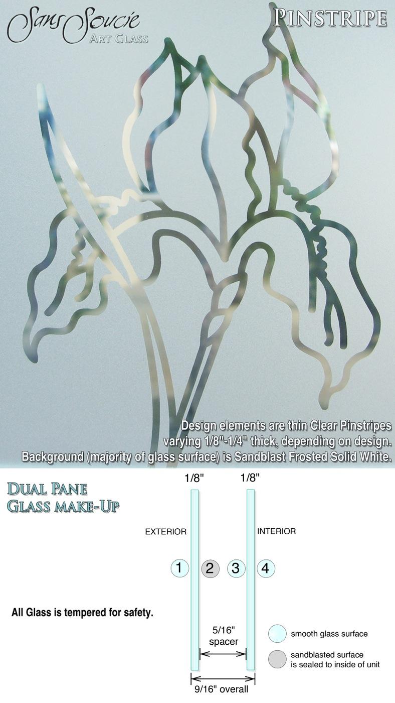 09. pinstripe Effect Spec Sheets w-glass make up - Sans Soucie Art Glass