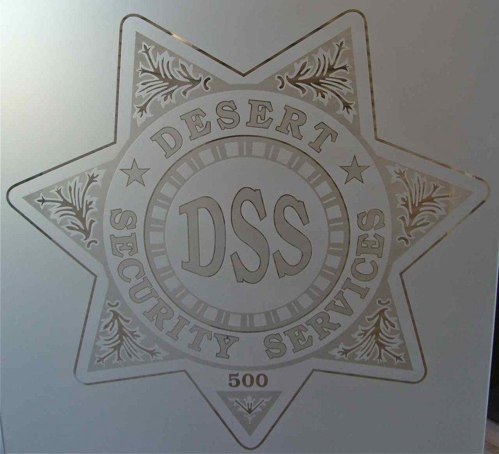 Signs Desert Security Services Sans Soucie