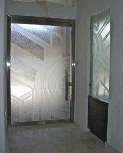 Sun Odyssey Frameless Glass Door Sans Soucie