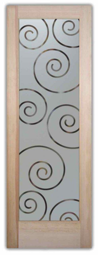 Swirls Pantry Door Sans Soucie