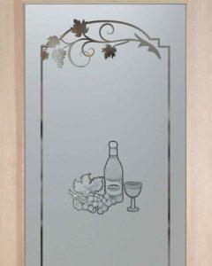 Wine Tasting B 2D Pantry Door Sans Soucie