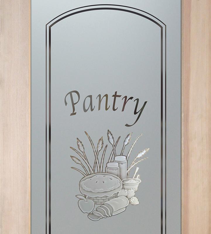 apple pie 3D pantry door