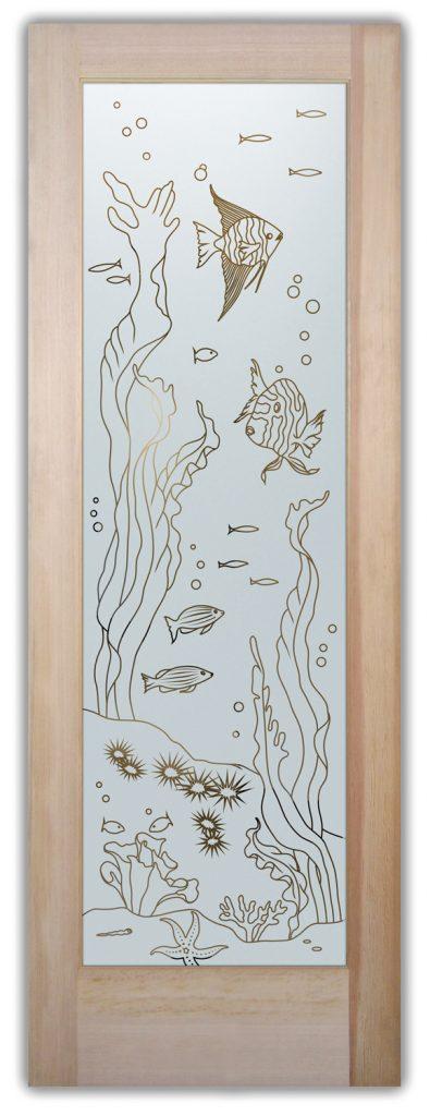 Aquarium Pantry Doors