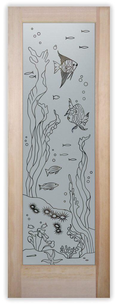 aquarium fish pantry door