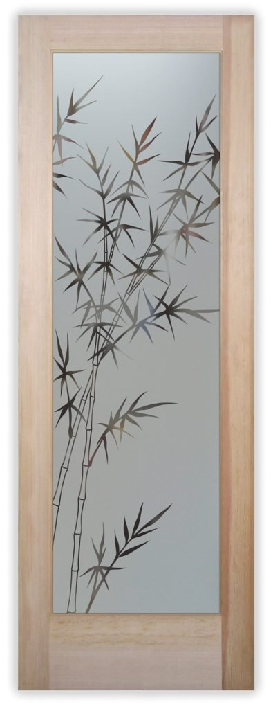 bamboo forest pantry door