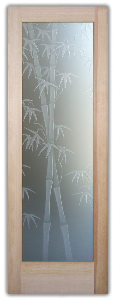 glass door sans soucie bamboo