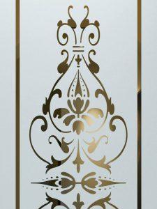 etching glass custom glass ornate designs victorian decor sans soucie bordeaux