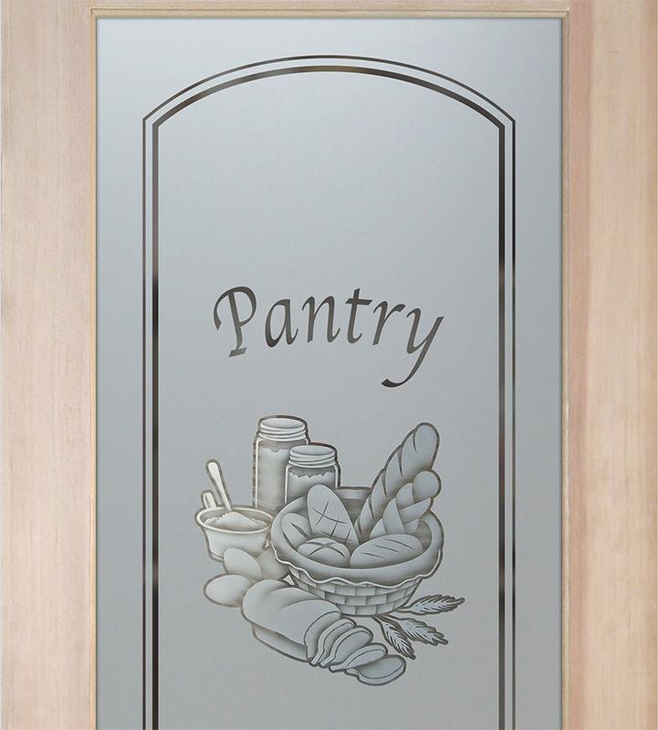 bread basket 2D pantry door