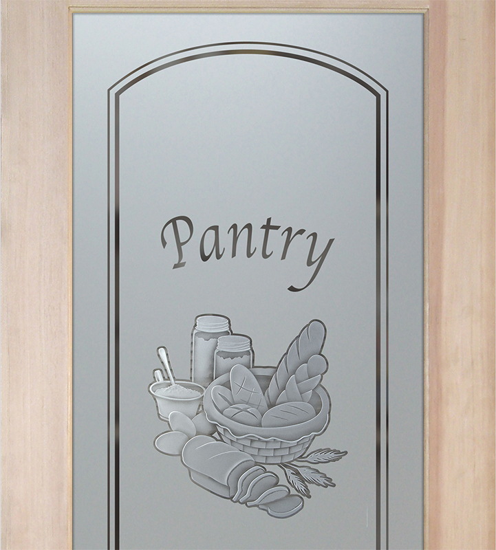 bread basket 3D pantry door